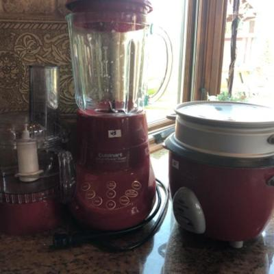 Blenders and rice cookers