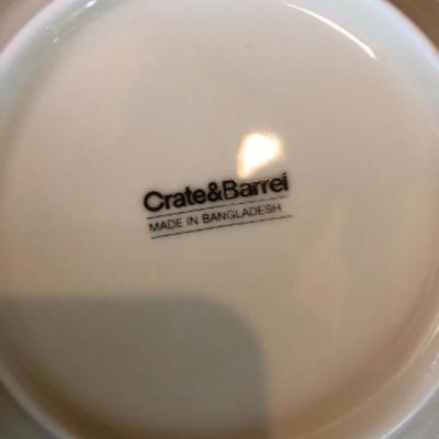 Crate and barrel pieces