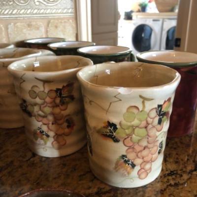Even the coffee cups are pretty