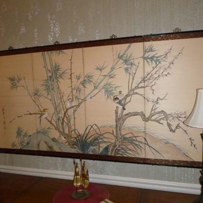 Chinese screen panels