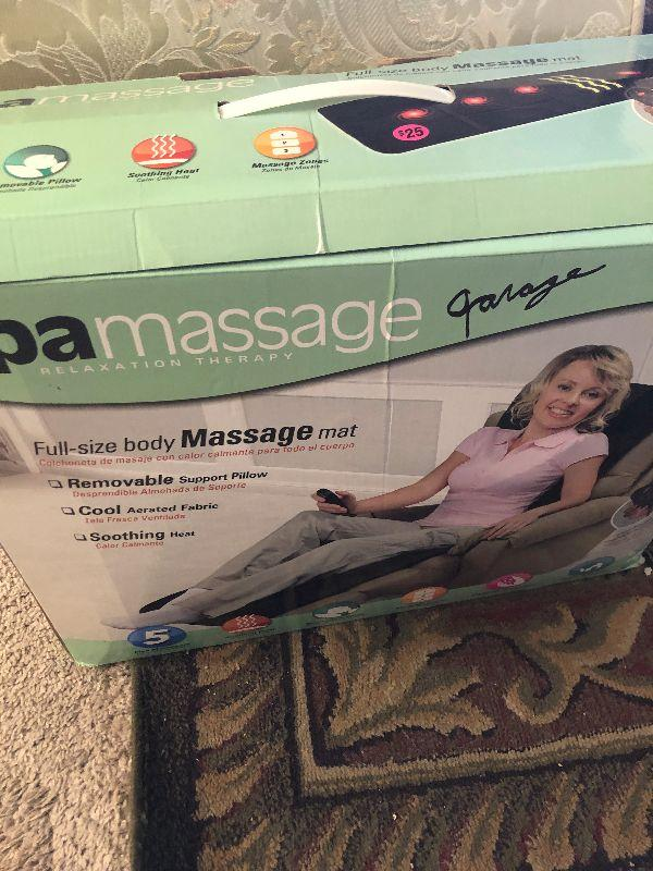 spa massage for chair