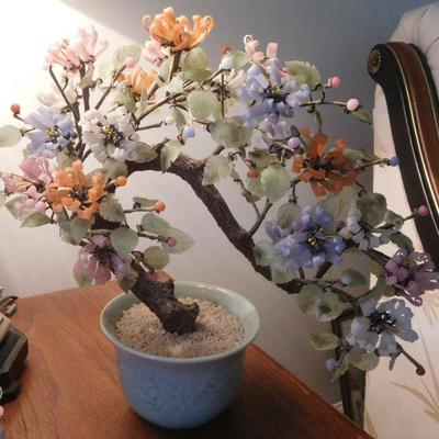 Glass Bonsai Tree