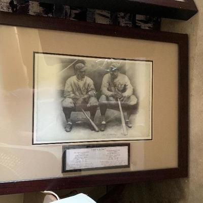 legends of the game Lou Gehrig & Babe Ruth