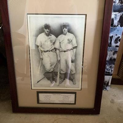 legends of the game Lou Gehrig/Joe Di Maggio