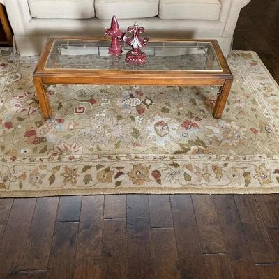 coffee table w/matching sofa table and end tables