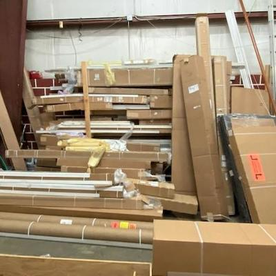 Loads of new/old stock powered blinds