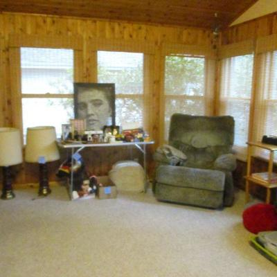 Recliner, Elvis collection & more