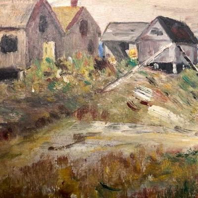 Charles Allen Painting of  Ogunquit Maine
