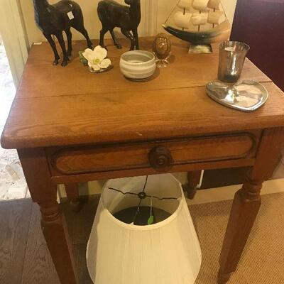Primitive Pine Occasional Table