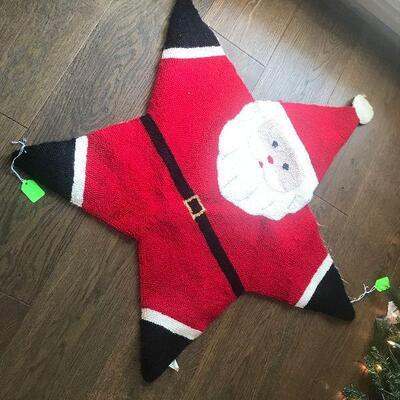Santa Floor Mat