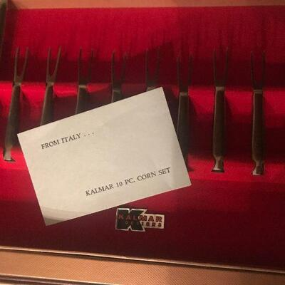 Vintage Kalmar 10 pc Corn Set