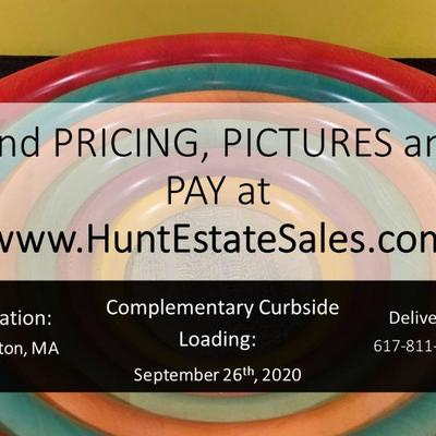 Buy NOW at HuntEstateSales.com