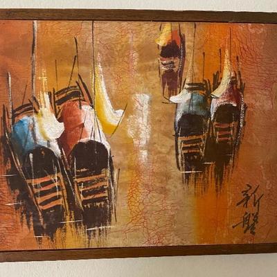 Original Asian painting
