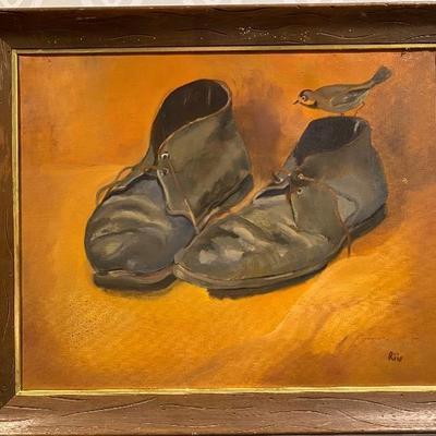Original oil painting by Elizabeth Riis of La Jolla