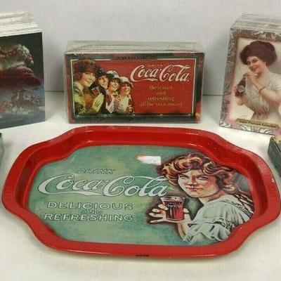 https://www.ebay.com/itm/114403225733	WL145 COCA-COLA LOT OF CARDS AND TRAY	Auction Starts 09/16/2020 After 6 PM