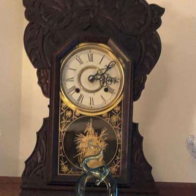 https://www.ebay.com/itm/114361629650	WL2069 Vintage Wooden Cabinet Mantel Clock Local Pickup	Buy-It_Now	75