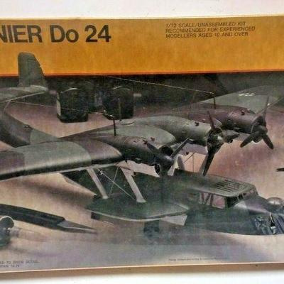 https://www.ebay.com/itm/114403507710	DP0025 TESTERS / ITALAEREL 1/72 MODEL KIT IN BOX DORNIER DO24 RECONNAISSANCE S	Buy-It-Now	 $20.00