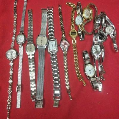 LX3000	https://www.ebay.com/itm/114387005281	LX3000 LOT OF USED 13 VINTAGE LADY'S WRIST WATCHES	Buy-It-Now	 $20.00