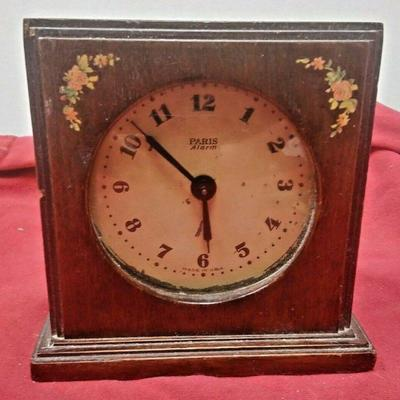 https://www.ebay.com/itm/114403172294	LX3003 USED VINTAGE PARIS  WOOD CASED ELECTRIC ALARM CLOCK  	Auction Starts 09/16/2020 After 6 PM