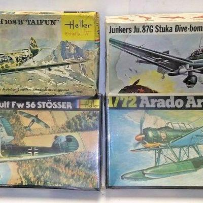 https://www.ebay.com/itm/114416061436	DP0018 LOT OF 4 HELLER & FROG 1/72 MODEL KITS IN BOXS GERMAN WW2 FIGHTER PLANES		Buy-It-Now	 $20.00