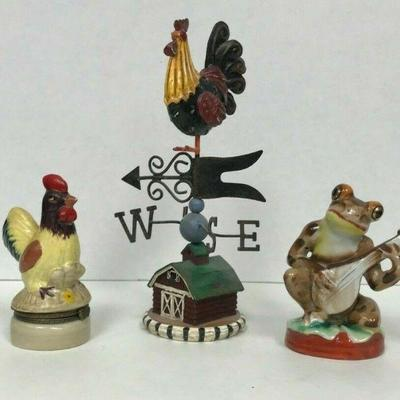 https://www.ebay.com/itm/114403221178	WL155 LOT OF 3 FIGURES ROOSTERS AND FROG	Auction Starts 09/16/2020 After 6 PM