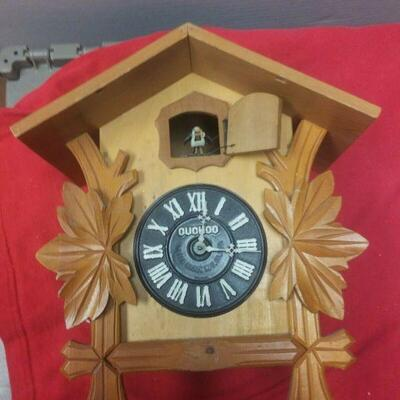 https://www.ebay.com/itm/124343064280	LX3019 VINTAGE WOOD & BRASS MI-KEN JAPANESE COO COO CLOCK FOR PARTS OR REPAIR	Buy-It-Now	 $22.99