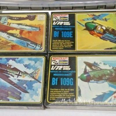 https://www.ebay.com/itm/114403470843	DP0014 LOT OF 4 HASEGAWA 1/72 MODEL KITS IN BOXS GERMAN WW2 FIGHTER PLANES	Buy-It-Now	 $20.00