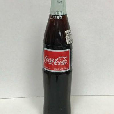 https://www.ebay.com/itm/124334118354	WL152 COCA-COLA BOTTLE 2002 FROM MEXICO 500ML	Auction Starts 09/16/2020 After 6 PM