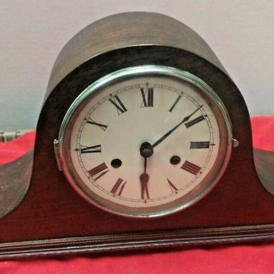 https://www.ebay.com/itm/124337761389	LX3015 VINTAGE HALLER FOREIGH WOOD & BRASS  WIND UP MANTLE CLOCK	Buy-It-Now	25