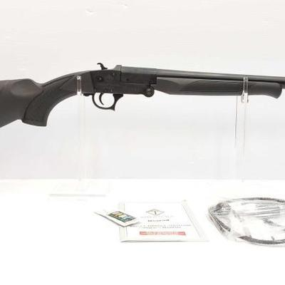 365	  American Tactical Nomad 12 ga Single Barrel Shotgun Serial Number: 125B20-000385 Barrel Length: 18.5