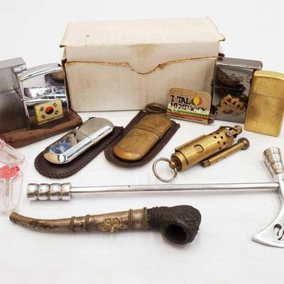 1022	  Zippo Lighters, Pipes, and More! Zippo Lighters, Pipes, and More!