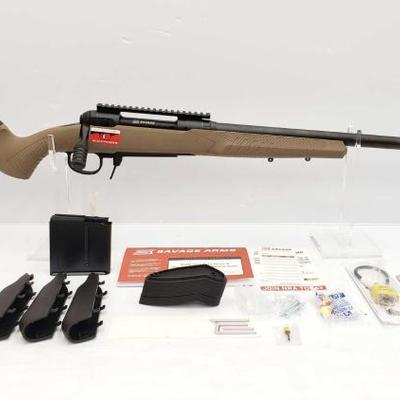 355	  Savage Model 110 300 Win Bolt Action Rifle Serial Number: N654348 Barrel Length: 24
