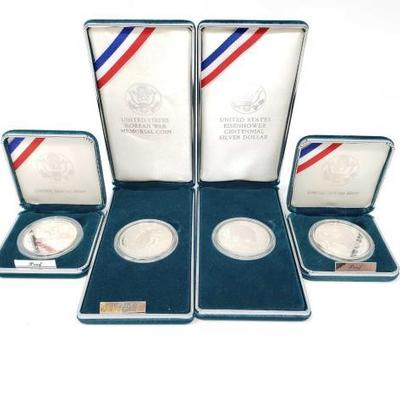 2514	  US Silver Commemorative Coins United States eisenhower Centennial Silver Dollar, Prisoner Of War Commemorative Silver Dollar,...