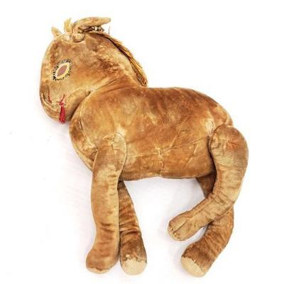 2800	  Vintage Horse Stuffed Animal Measures Approx 8
