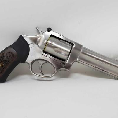 870	  Ruger SP101 .357 MAG Revolver, NO CA BUYERS Serial Number: 578-15185 Barrel Length: 4.25