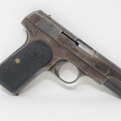 525	  Colt M1903 .32 CAL Semi-Auto Pistol Serial Number: 189540 Barrel Length: 4