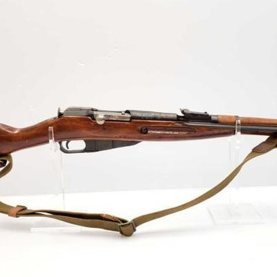 754	  Russian Mosin Model 44 7.62x54R Bolt Action Rifle W/Bayonet Serial Number: 1863 Barrel Length: 20