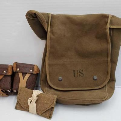 1030	  Miltary Satchel, Miltary Pouch, and More ! Miltary Satchel, Miltary Pouch, and More !