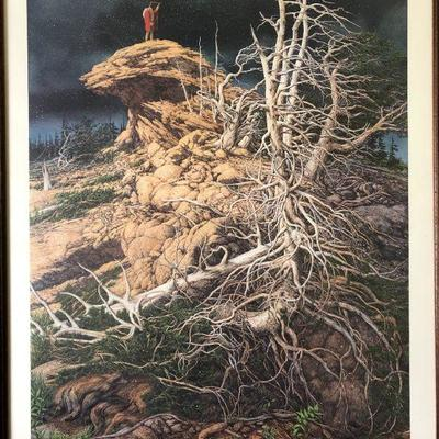 Bev Doolittle Print - Framed, numbered and signed -