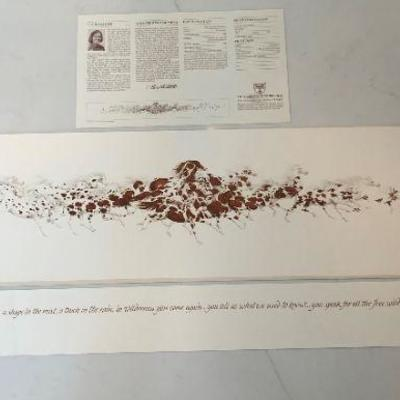 Bev Doolittle Print - Signed and Numbered -