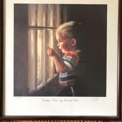 Donald Zolan Print - Framed, signed and numbered -