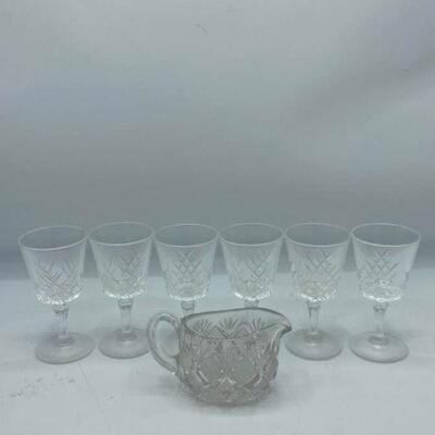 Petite Crystal Drinking Glasses