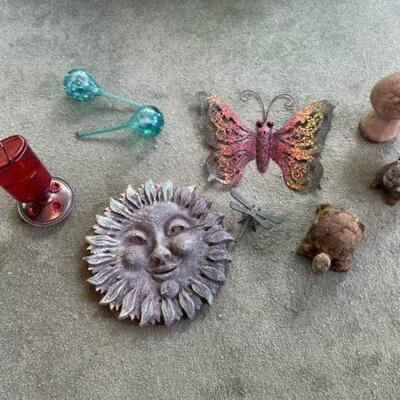 Assorted Yard Decor Pieces