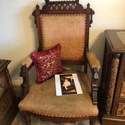 Eastlake chair early 1900's