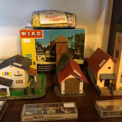 WIAD German town for train set