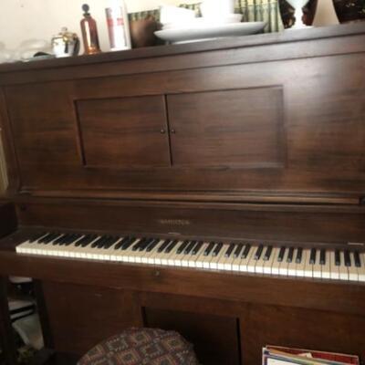 Hamilton player piano