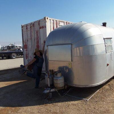 1955 ? Airstream project