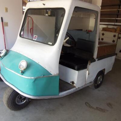 3 wheel cart runs great