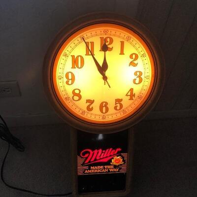 Miller light signs