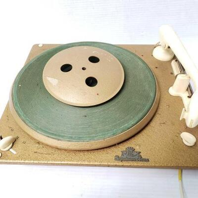 #1400 • Vintage Rex Perpetuum-Elmer Record Player